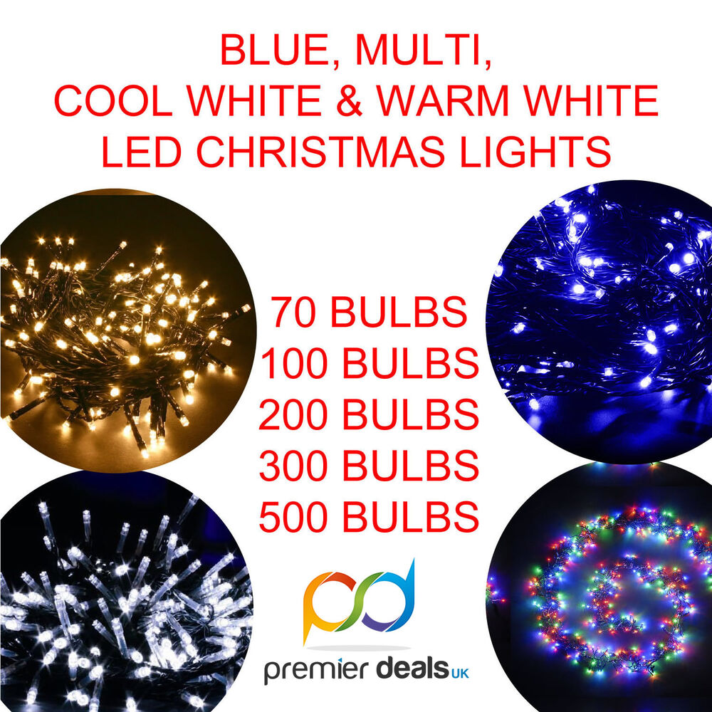 Led Christmas Lights Cool White