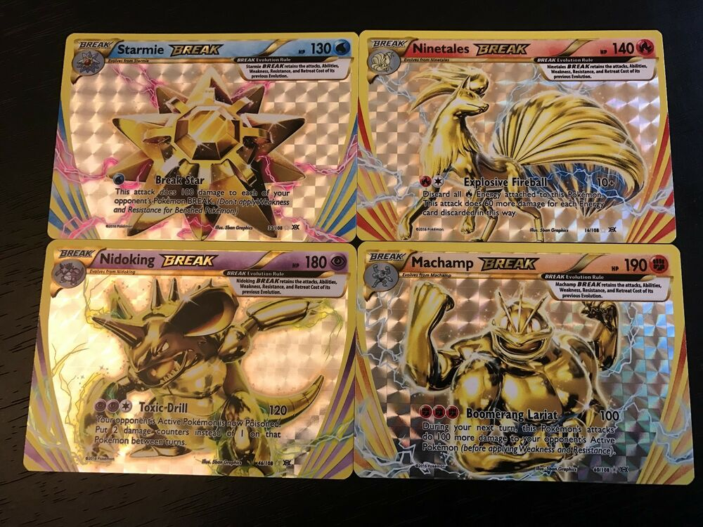 Card Ex Mega Pikachu Pokemon