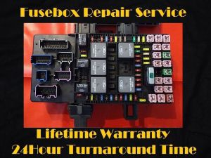 20032006 Ford EXPEDITION Fuse Box Fuel Pump Relay Repair