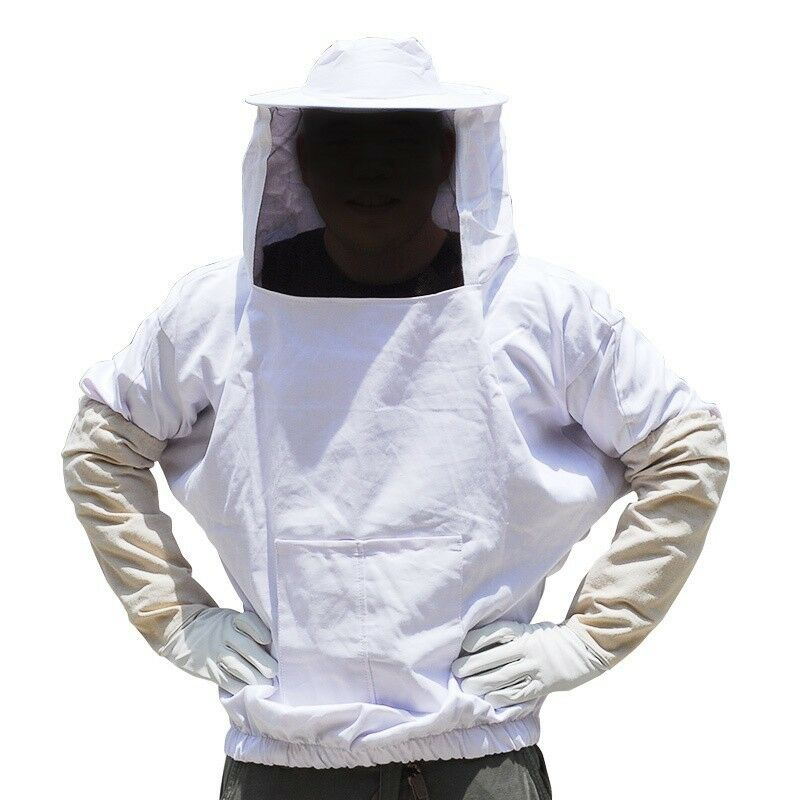 Beekeeping Jacket And Veil Smock Bee Suit Equip EBay