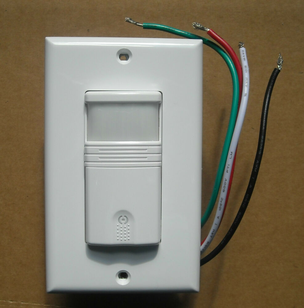 Occupancy Vacancy Wall Decora Motion Sensor Detector