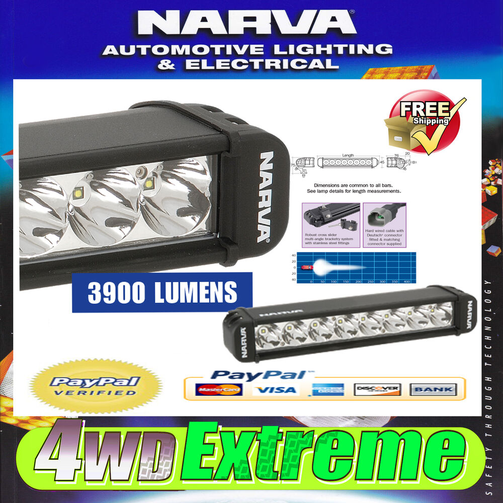 Narva Led Light Bar Review