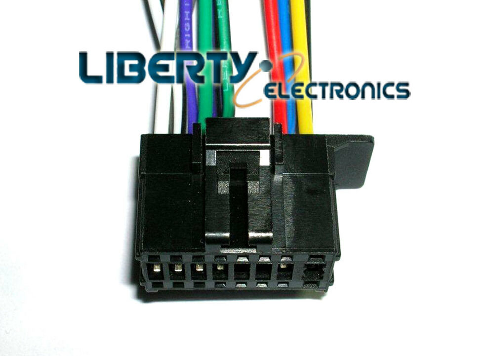 New 16 Pin Wire Plug Harness For Pioneer Mvh X370bt