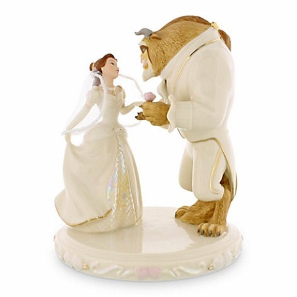 Beauty And Beast Wedding Cake Topper