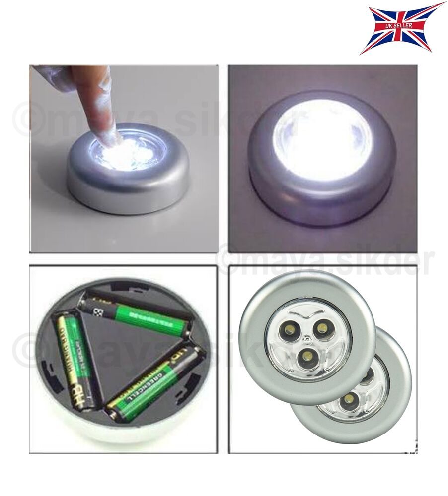 Battery Operated Push Lights