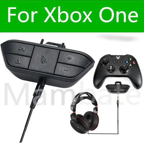 Mic And Stereo Headset Adapter Xbox