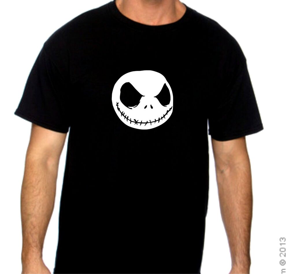 Jack Nightmare Before Christmas T Shirts