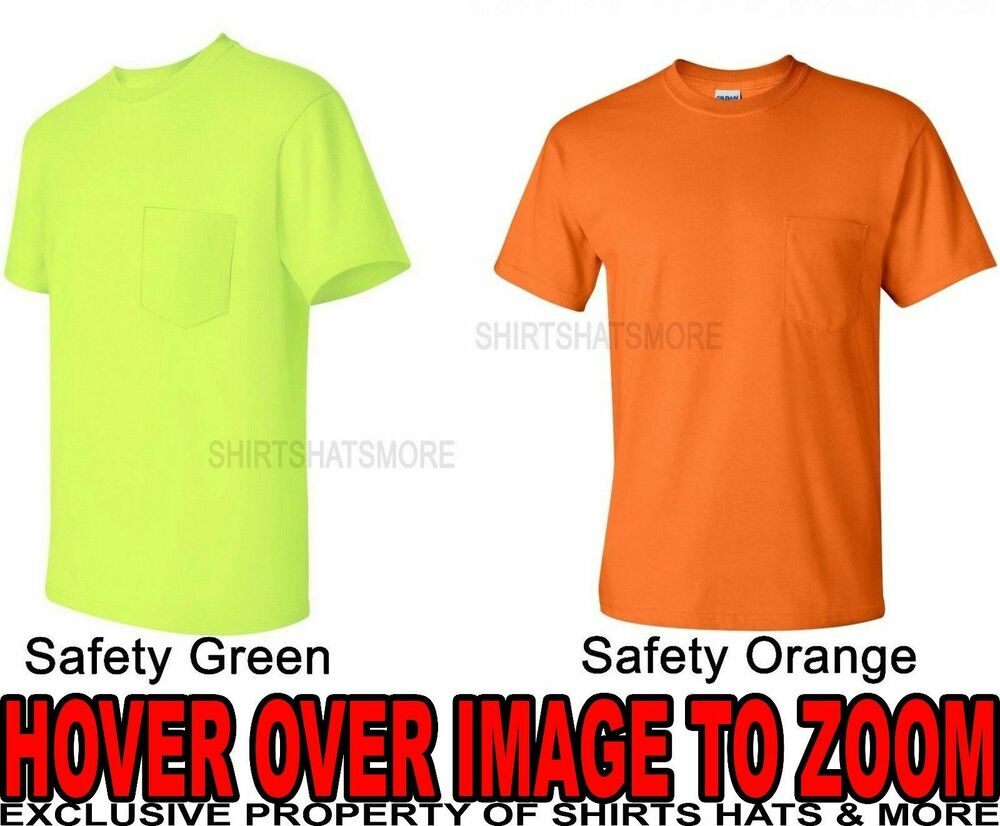 Safety Green Tee Shirts