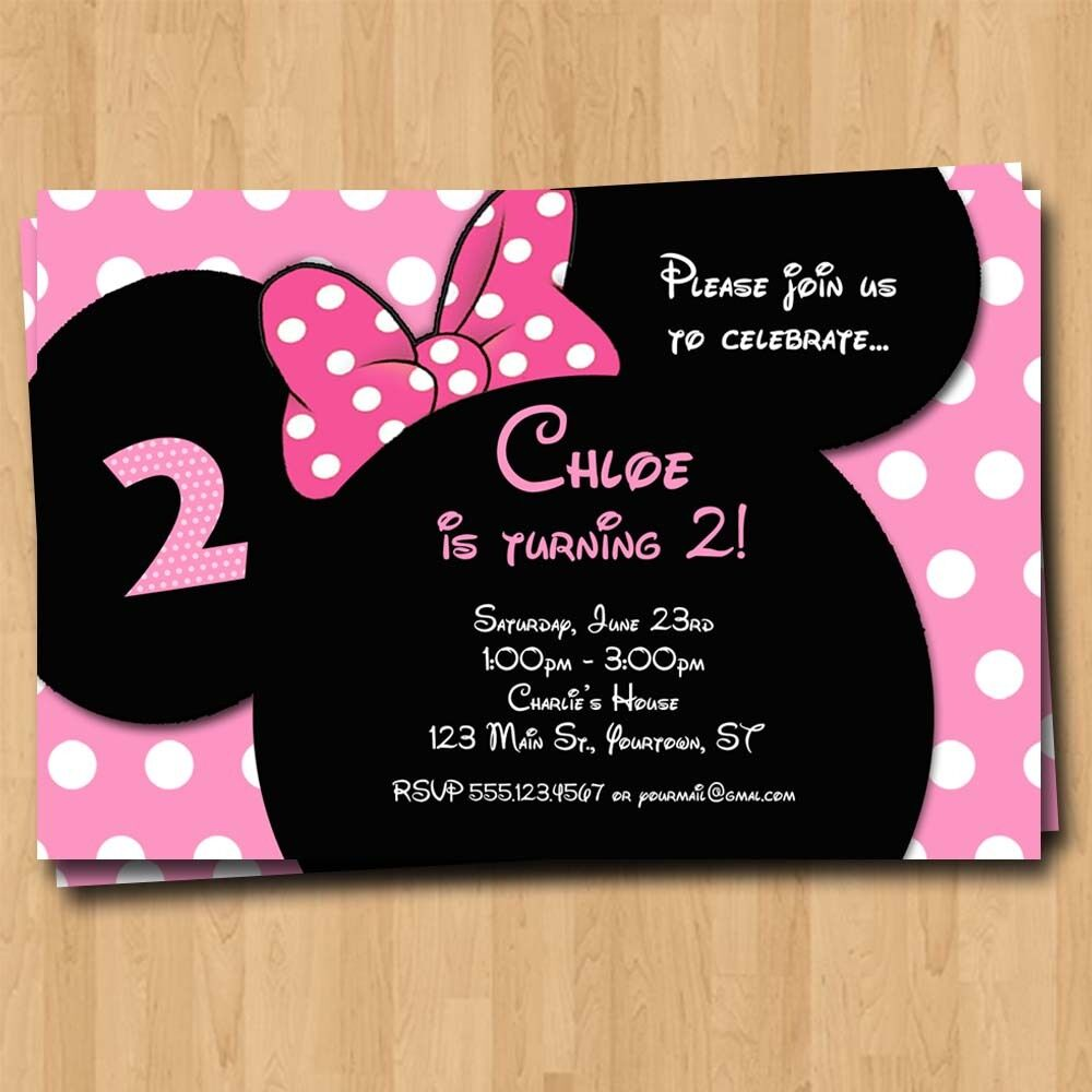 Custom Invitations 4x6