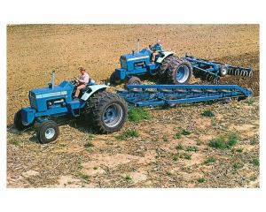1972 Ford 8000 9000 Tractor Photo Poster zc2677M6L852 | eBay
