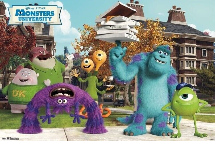 Ok Characters Mike Wazowskis University Square Monsters