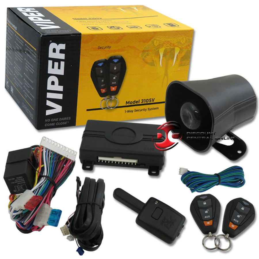 Vehicle Security Alarm System