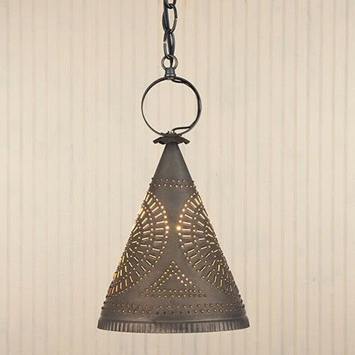 Tin Punched Lighting Fixtures
