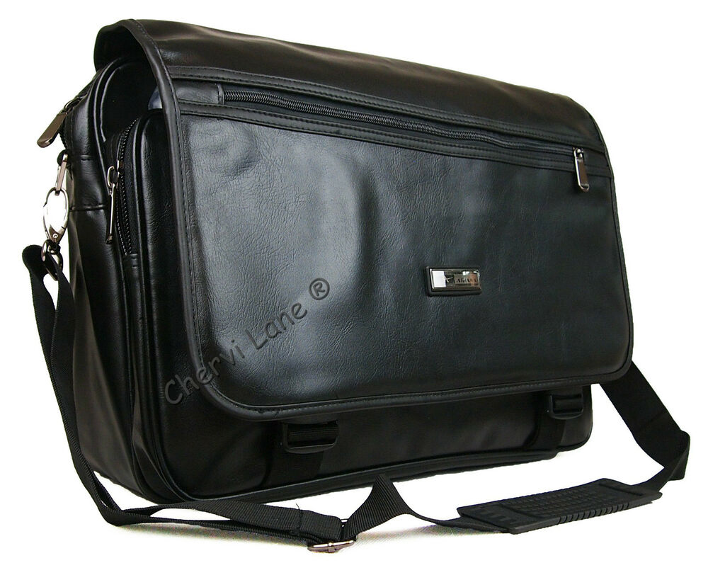 High Quality Faux Leather 15 Quot 17 Quot Business Briefcase