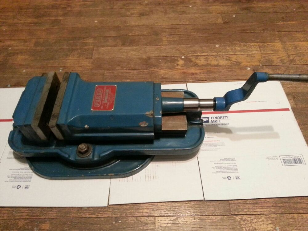 Milling Machine Vise 6 Quot X 6 Quot X 2 1 2 Quot Jaw Lockdown With