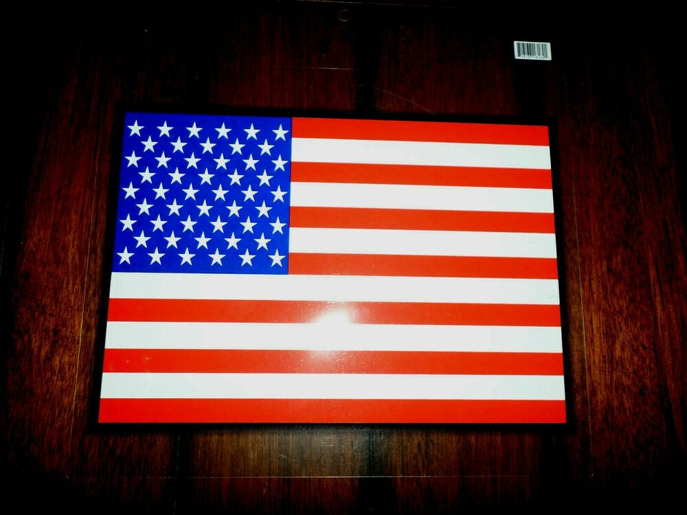 History Flag American Over