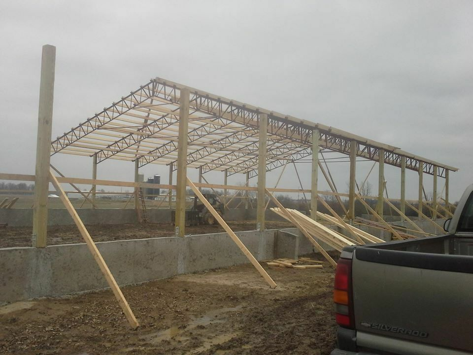 50 Foot Steel Truss Clear Span Agricultural Building