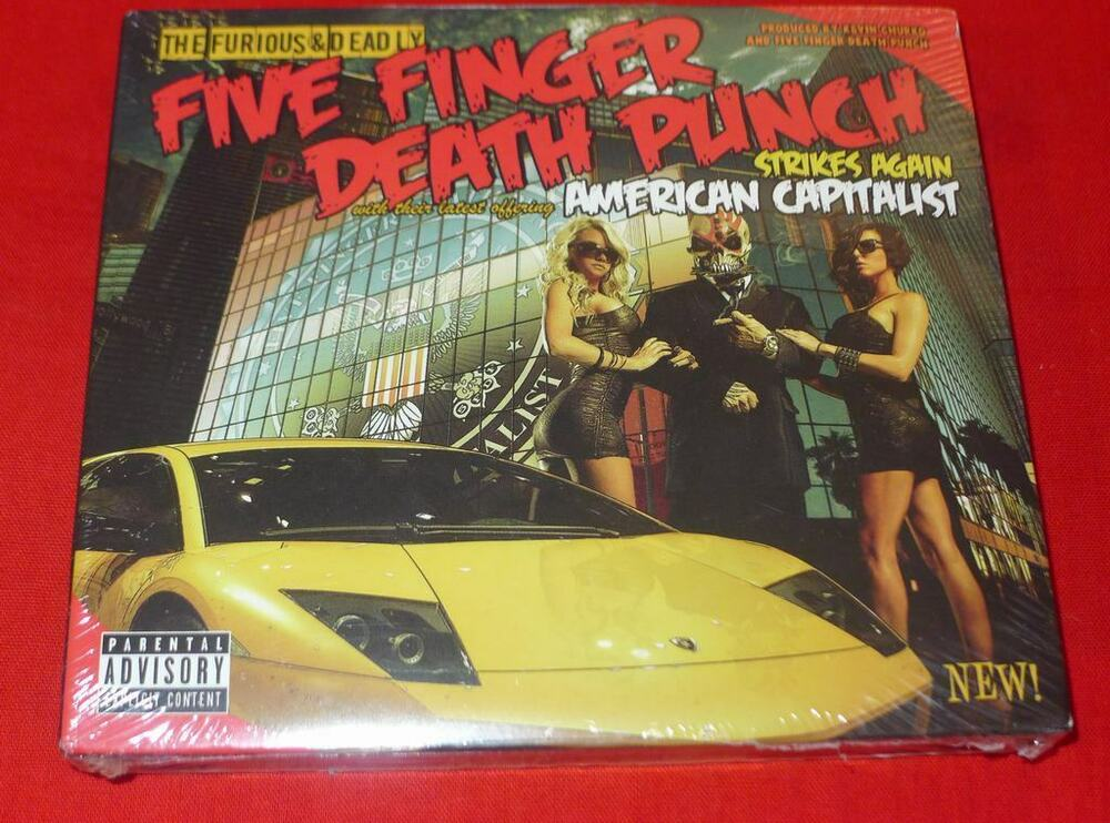 American Capitalist By Five Finger Death Punch 2CD Deluxe Edition 813985010540 EBay