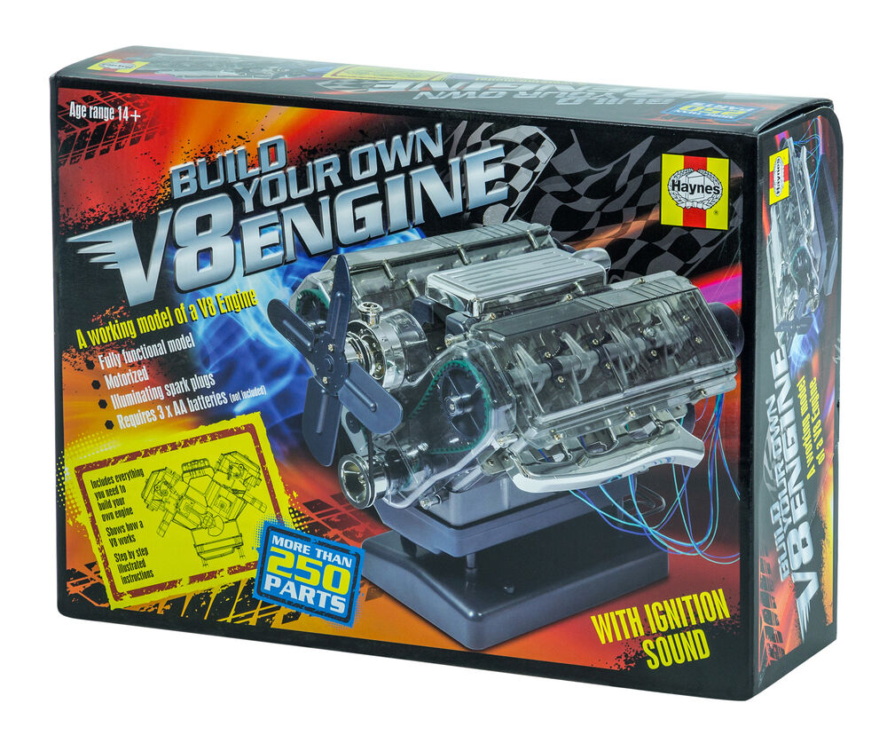 Haynes Automotive Build Your Own V8 Engine Diy Twin