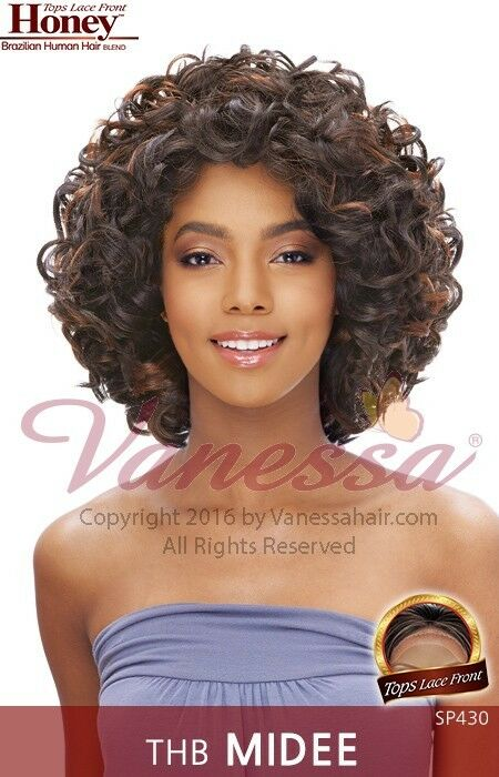 THB MIDEE VANESSA BRAZILIAN HUMAN HAIR BLEND LACE FRONT
