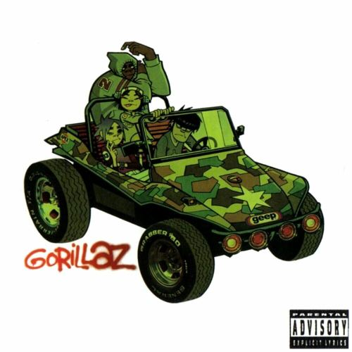 GORILLAZ self titled (CD album) left field, trip hop, lo-fi, brit ...