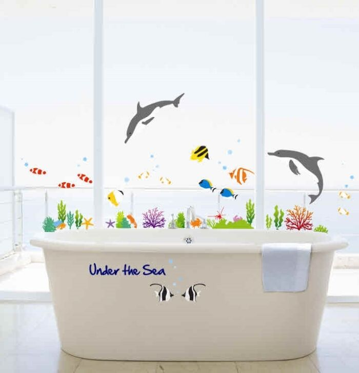 Under Sea Bathroom Set