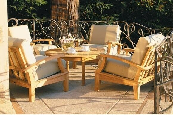 Wooden Sets Furniture Patio