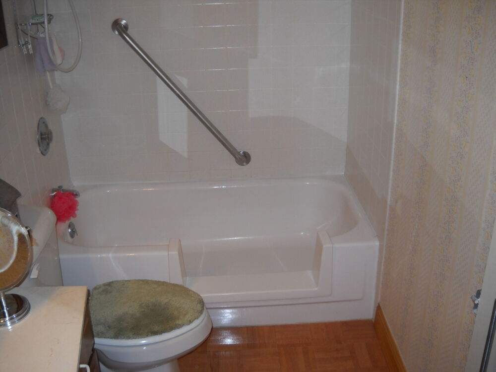 Bath Tub Low Safety Step In Complete Do It Yourself Kit Senior Amp Mobility Baths EBay