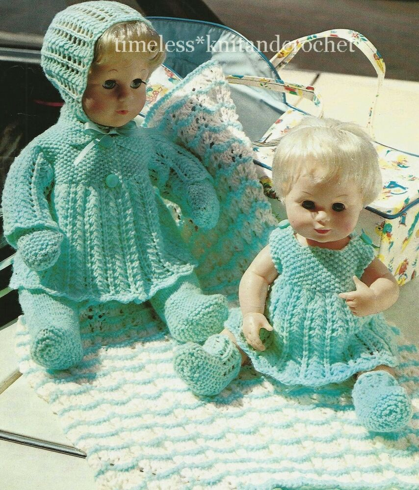 Doll Baby 14 Clothes Patterns