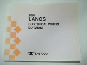 2001 Daewoo Lanos Electrical Wiring Diagram Service Manual | eBay