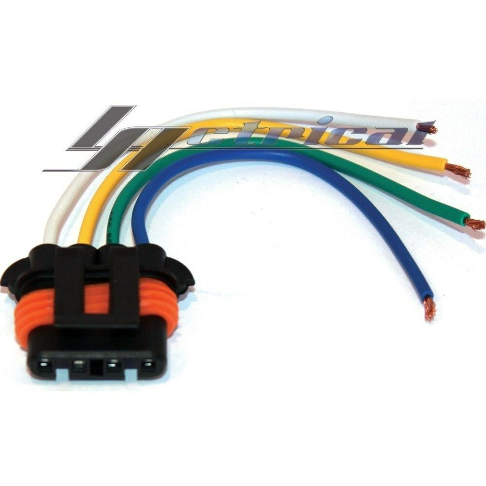 New Repair Plug Harness Pigtail Connector 4 Wire Chevy Gmc