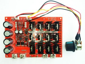 1050V 60A DC Motor Speed Control PWM HHO RC Controller