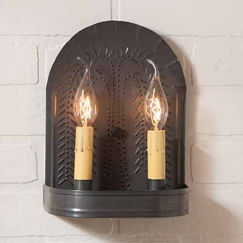 Punched Tin Lighting Fixtures