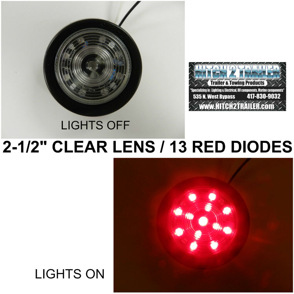 Clear Led Trailer Lights