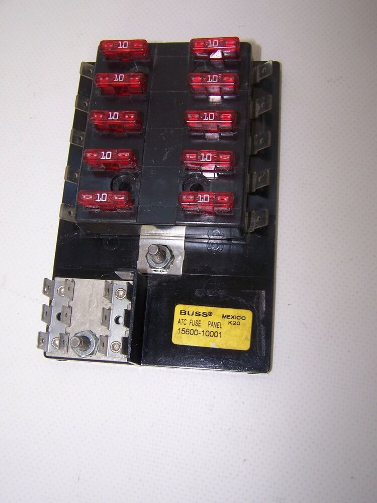 Atc Fuse Panel 10 Fuse Positions Fuses Included K20