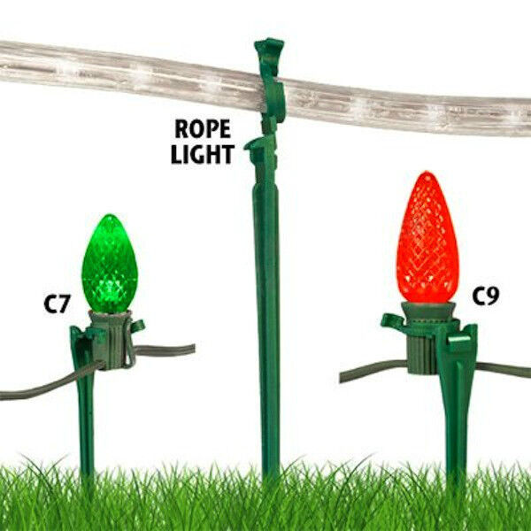 Christmas Light Stakes