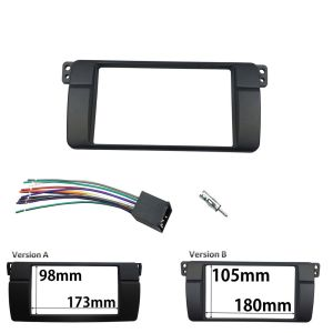 Radio Stereo Panel for BMW 3 Series E46 2 Din Dash Trim