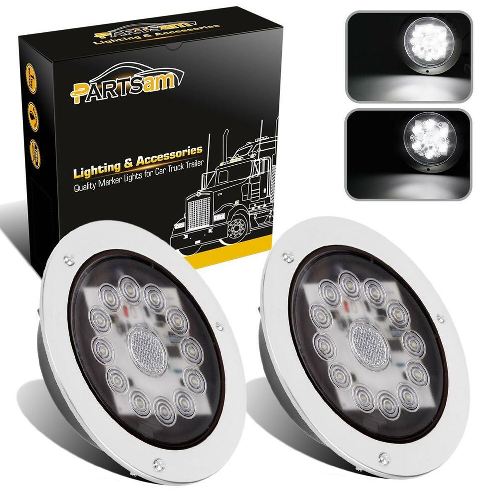 Round Led Backup Lights