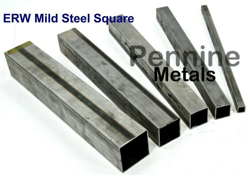 ERW SQUARE TUBE Mild Steel 1.5mm Wall