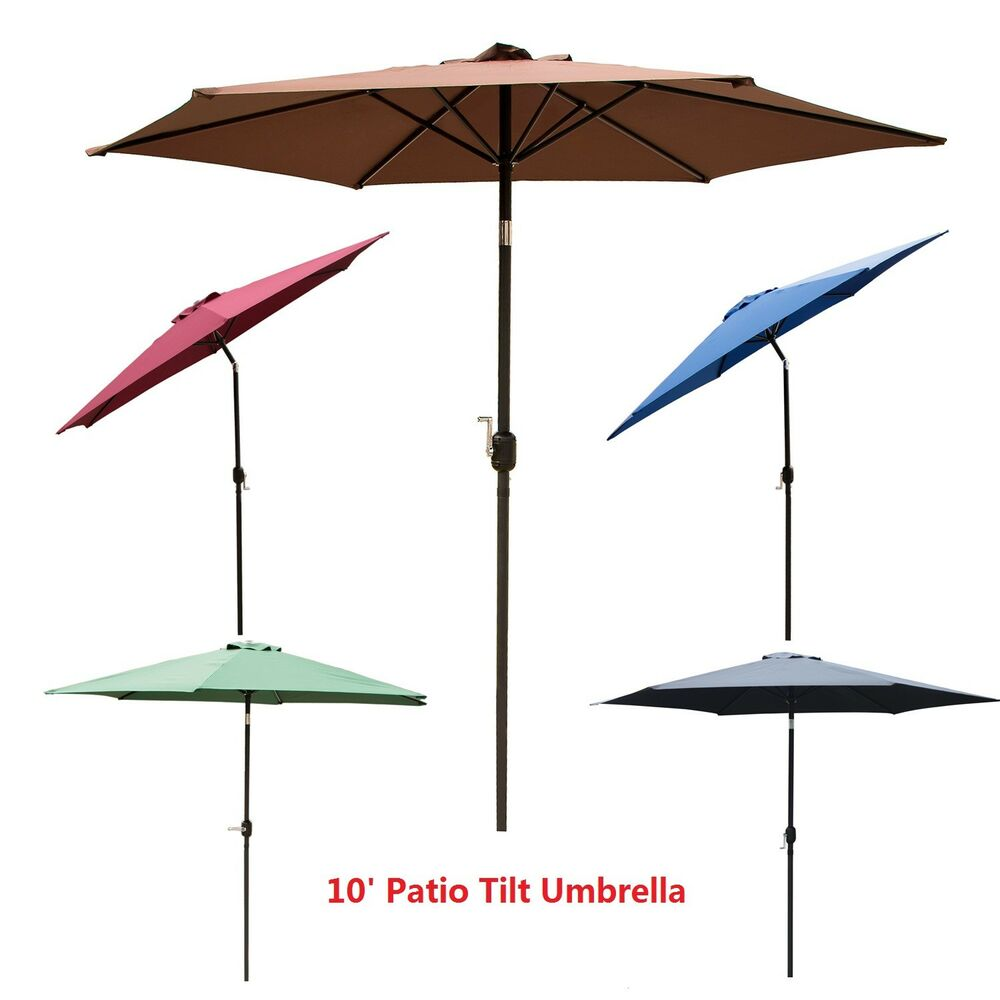 Tilt Umbrellas Patio 8