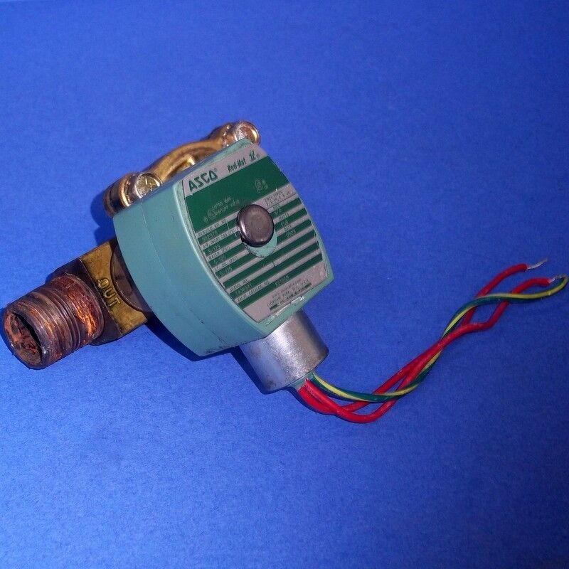Red Way Asco Valves Hat 3 Solenoid