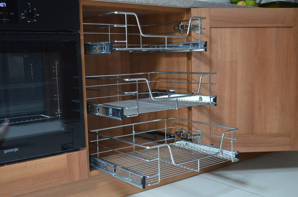 Pull Out Shelving Kitchen Cabinets