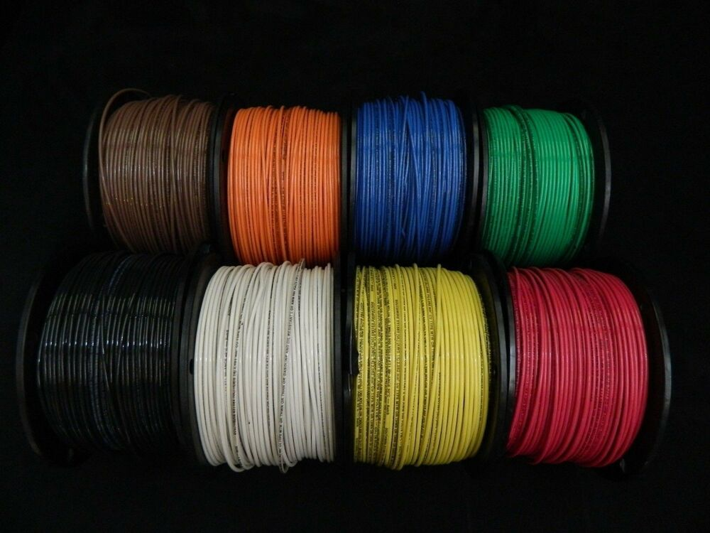 14 Gauge Thhn Wire Stranded 8 Colors 50 Ft Each Thwn 600v