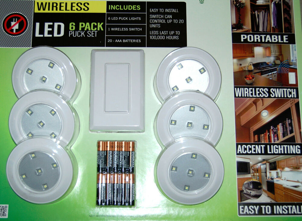 Battery Powered Led Puck Lights