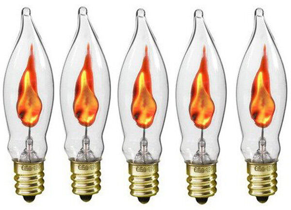 Flickering Candle Light Bulbs