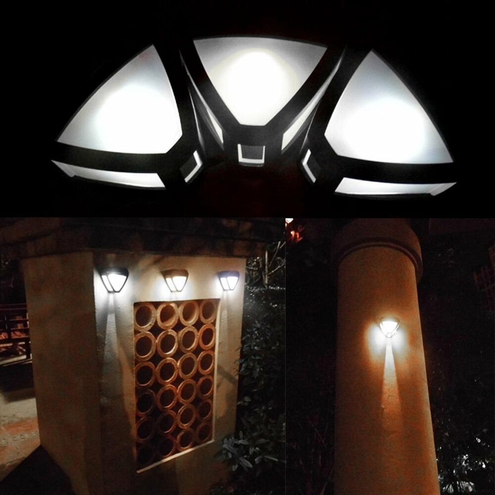 Solar Powered Fence Lights