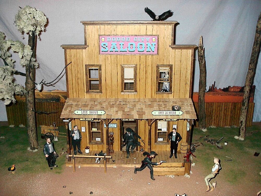 TOMBSTONE DODGE CITY DEADWOOD OLD WEST SALOON 112 SCALE