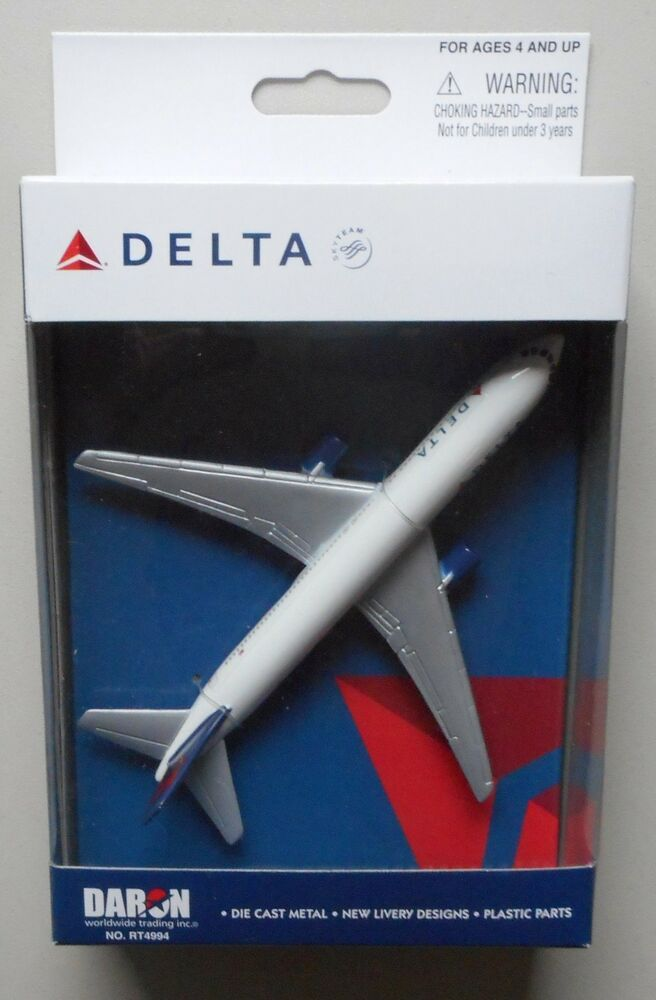 Delta Airlines Miniature Single Plane Airplane 5 Quot Wingspan