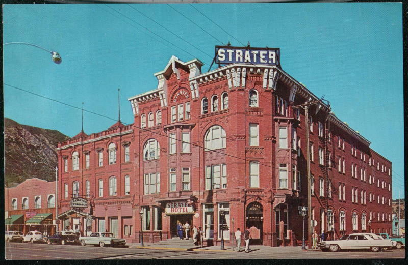 DURANGO CO Strater Hotel Vintage 1960s Cars Colorado Postcard Old Early PC EBay