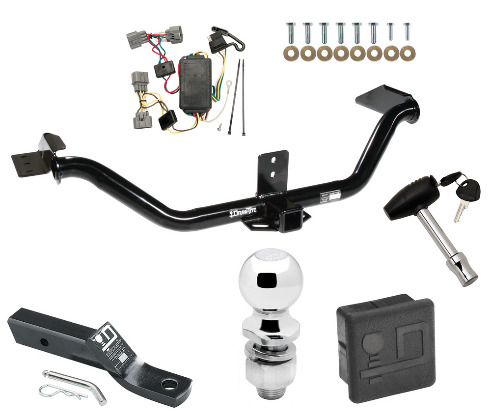 2006-2014 HONDA RIDGELINE TRAILER HITCH TOW KIT W/ WIRING